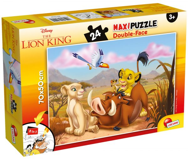 LISCIANI - PUZZLE DF SUPERMAXI 24 LION KING