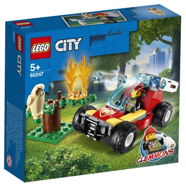 LEGO City Incendio nella foresta - 60247 City