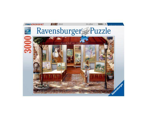 Ravensburger Puzzle 3000 Pezzi - Galleria di Belle Arti