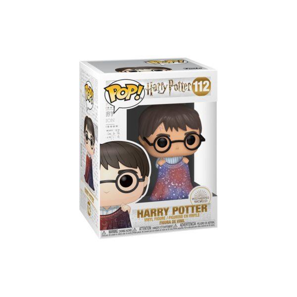 FUNKO POP HP: HP - Harry con Mantello dell'Invisibilità