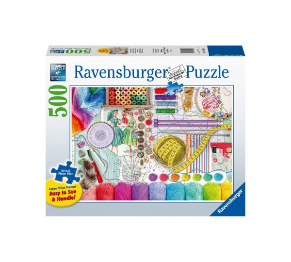 Ravensburger Puzzle 500 Pezzi - Il labirinto di cucito