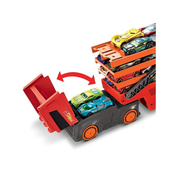 Hot Wheels  Hot Wheels Mega Trasportatore, Camion per Veicoli