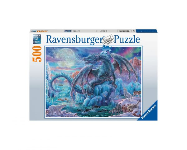 Ravensburger Puzzle 500 Pezzi - Mistici draghi