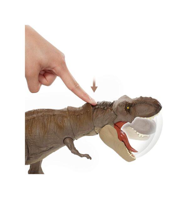 Jurrasic World  Jurassic World Dinosauro Tirannosauro Rex Morso Letale, Giocattolo per Bambini 3+ Anni