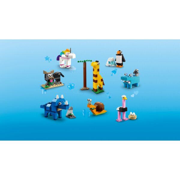 Classic   LEGO Classic Mattoncini e animali - 11011