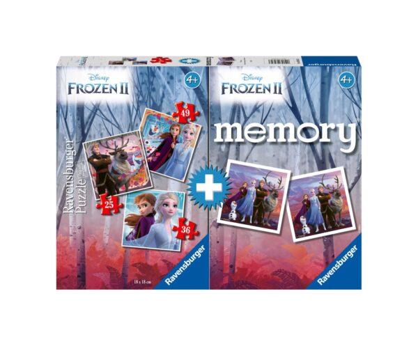 Ravensburger Multipack memory®+ 3 puzzle - Frozen 2