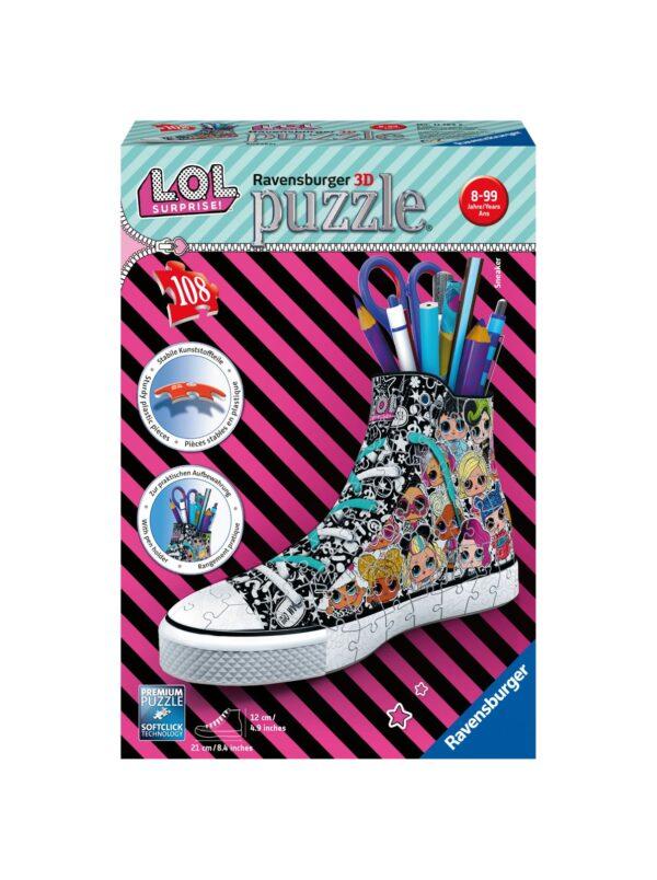 Ravensburger Puzzle 3D - Sneaker - L.O.L.