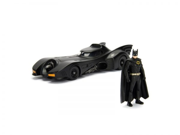 Batman 1989 Batmobile 1:24 die-cast 30 cm