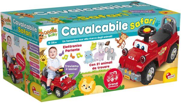 LISCIANI - CAROTINA BABY CAVALCABILE SAFARI AMICI ANIMALI