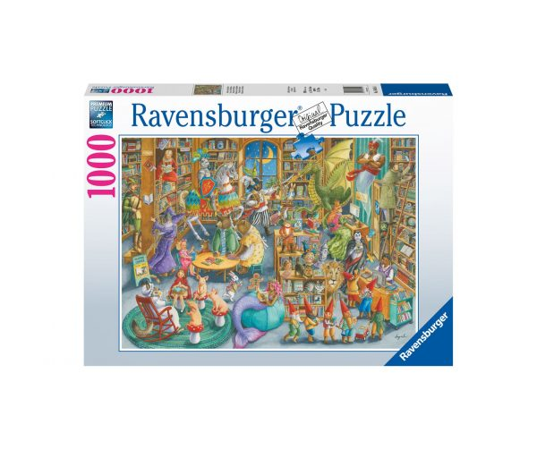 Ravensburger Puzzle 1000 Pezzi - Midnights at the Library