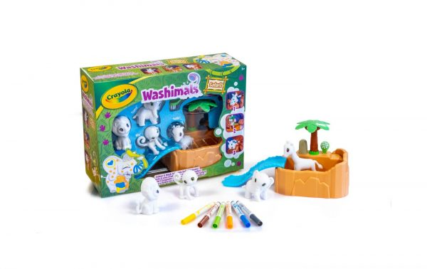 WASHIMALS SAFARI SET ATTIVITA' CRAYOLA