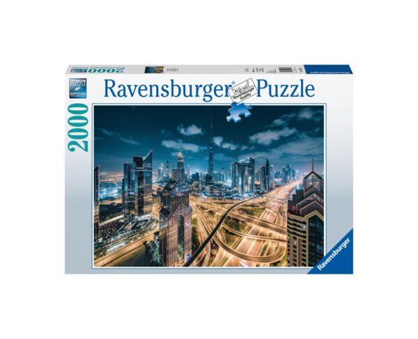 Ravensburger Puzzle 2000 Pezzi - Vista di Dubai