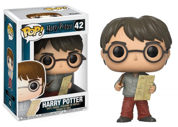 FUNKO POP Harry Potter: HP - Harry con Mappa del Malandrino HARRY POTTER Unisex 12-36 Mesi, 12+ Anni, 3-5 Anni, 5-8 Anni, 8-12 Anni FUNKO POP!