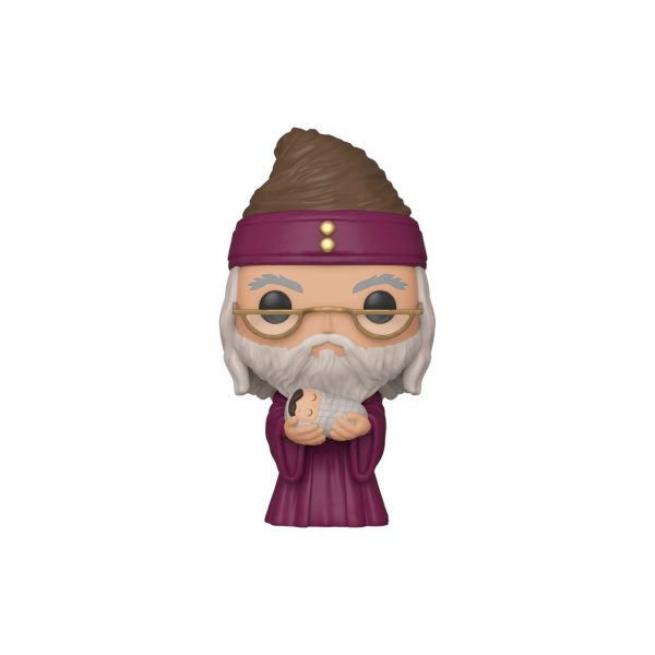 FUNKO POP HP: HP - Albus Dumbledore con Baby Harry