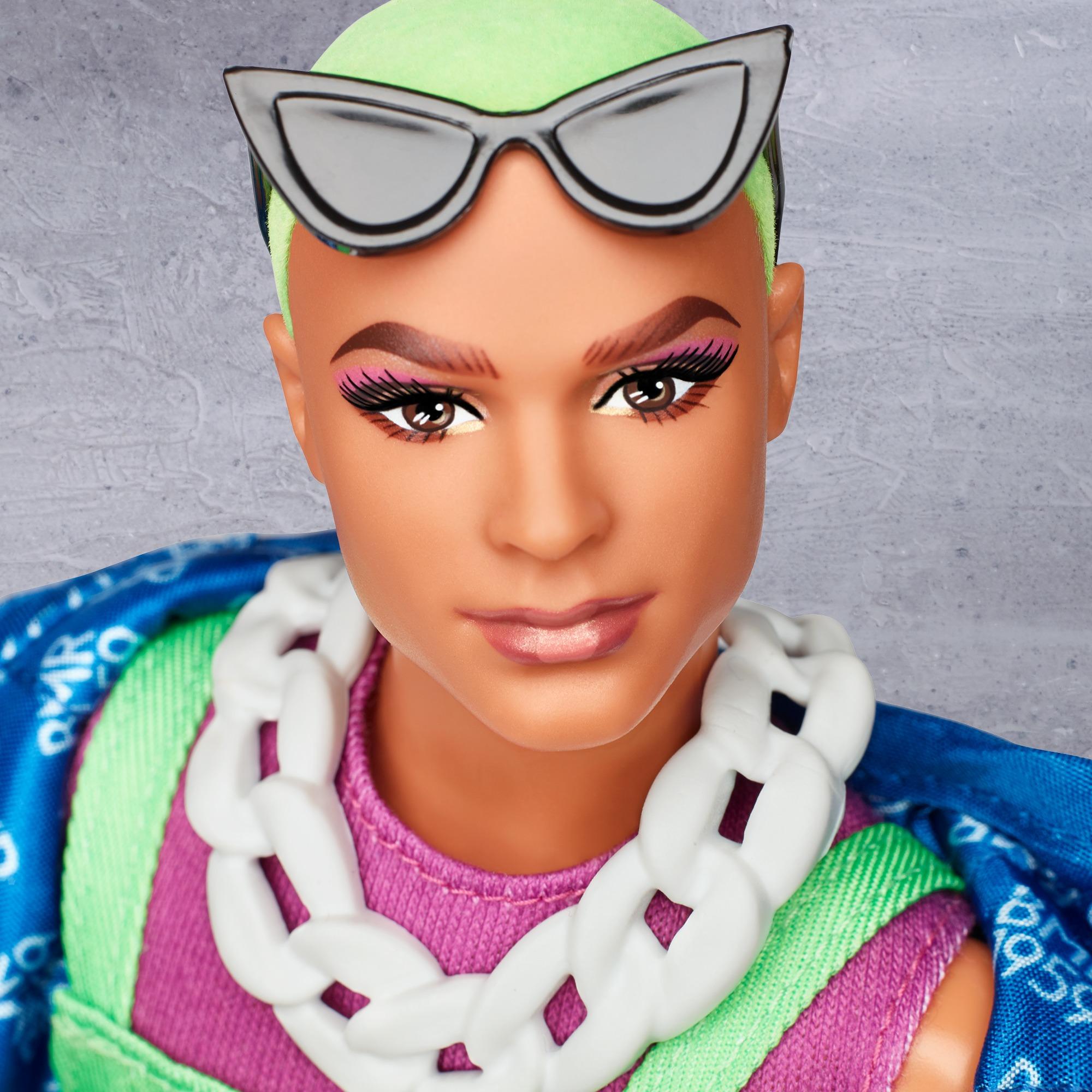 Bambola Barbie BMR1959 KEN-Felpa con cappuccio Harley Scolpire