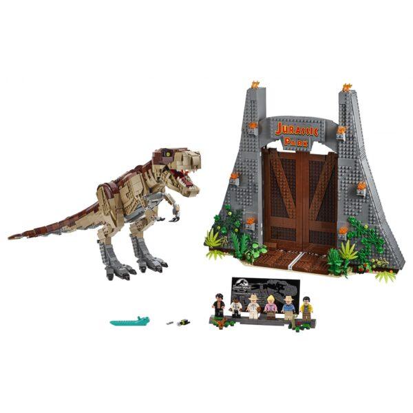LEGO Jurassic World Jurassic Park: la furia del T. rex - 75936    Jurassic World