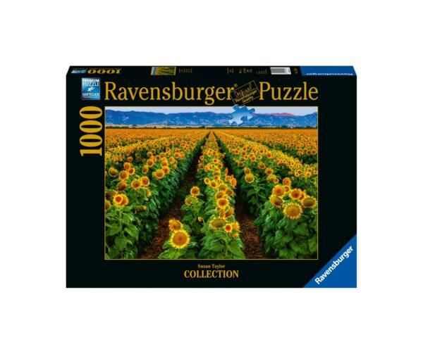 Ravensburger Puzzle 1000 Pezzi - Campo di girasoli