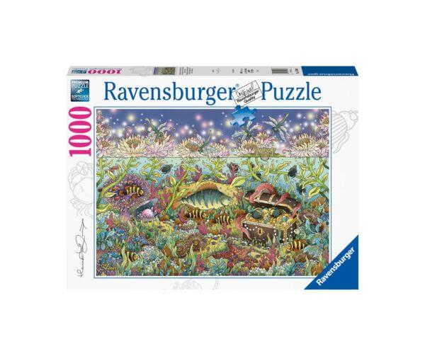 Ravensburger Puzzle 1000 Pezzi - Tramonto sott'acqua
