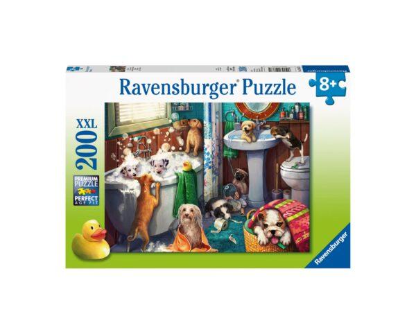 Ravensburger Puzzle 200 Pezzi XXL - Ora di far la doccia
