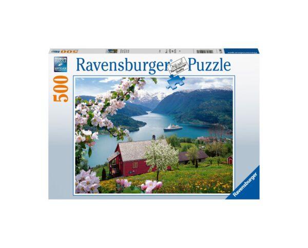 Ravensburger Puzzle 500 Pezzi - Idillio scandinavo