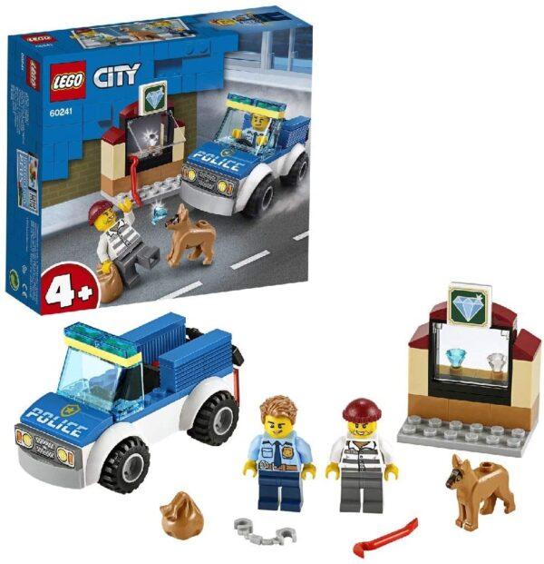 LEGO City Unità cinofila della polizia - 60241 City