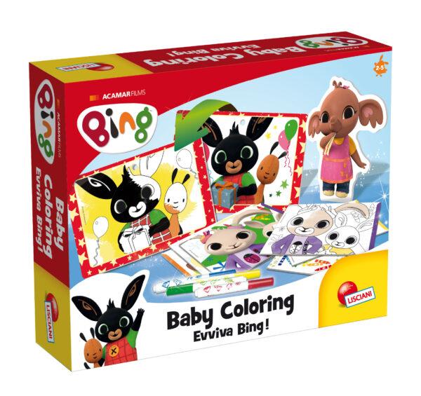 LISCIANI - BING BABY COLORING -EVVIVA BING!