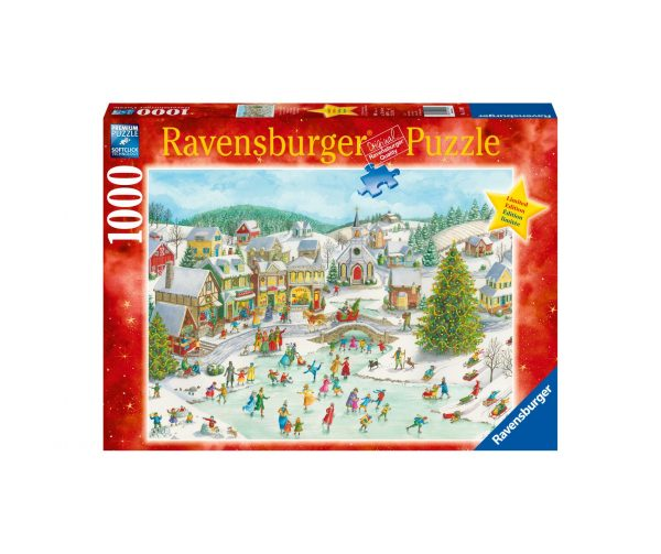 Ravensburger Puzzle 1000 Pezzi - Natale giocoso