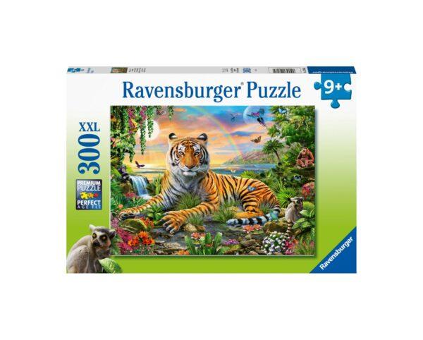 Ravensburger Puzzle 300 Pezzi XXL - Il re della giungla