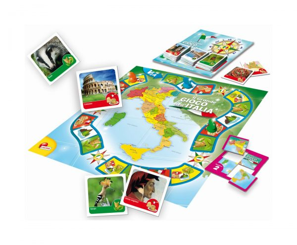 ALTRI I'M A GENIUS Unisex 3-5 Anni, 5-7 Anni, 5-8 Anni, 8-12 Anni LISCIANI - I'M A GENIUS IL GRANDE GIOCO DELL'ITALIA