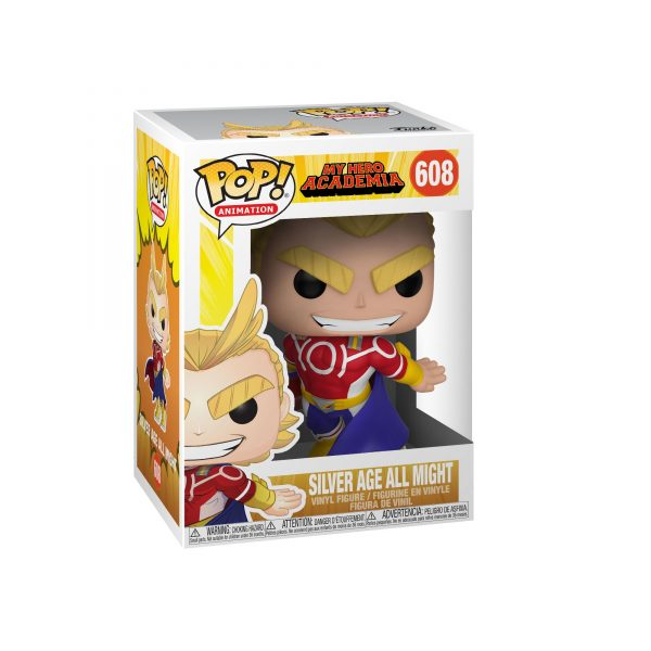 FUNKO POP Animation: My Hero Academia S3 - All Might (Silver Age)