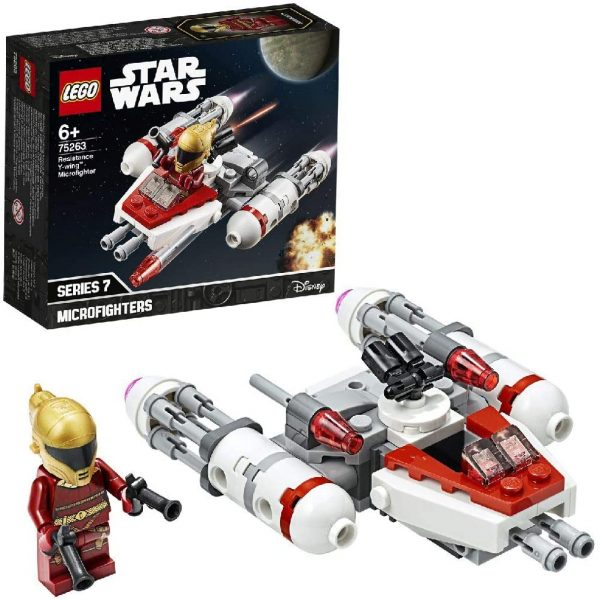 LEGO Star Wars Episode IX Microfighter Y-Wing della Resistenza - 75263 Star Wars Episode IX