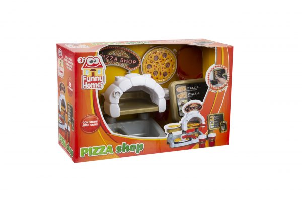 PIZZA SHOP FUNNY HOME