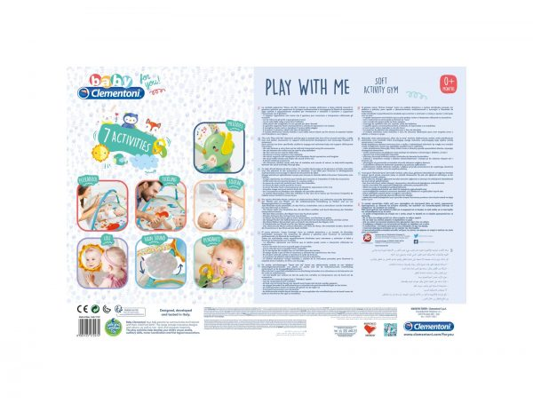 Baby Clementoni For You - Play with me, palestrina per bambini
