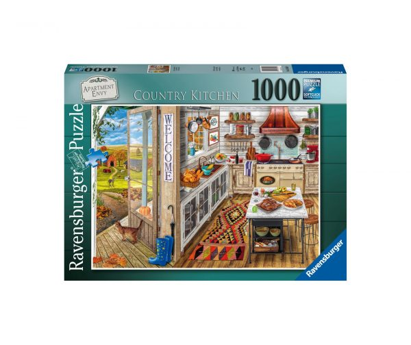 Ravensburger Puzzle 1000 Pezzi - Country Kitchen
