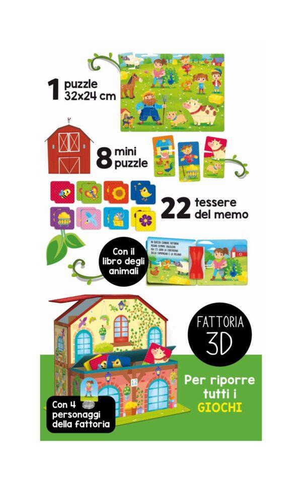 LISCIANI - LIFE SKILLS RACCOLTA GIOCHI EDUCATIVI LA  FATTORIA