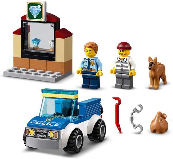City  LEGO City Unità cinofila della polizia - 60241