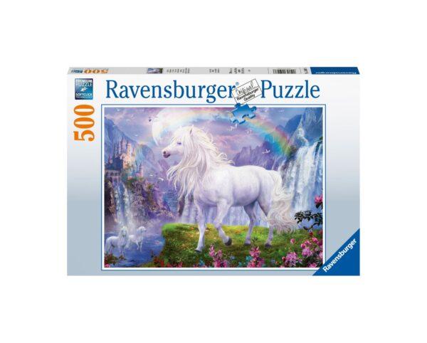 Ravensburger Puzzle 500 Pezzi - La valle dell'arcobaleno