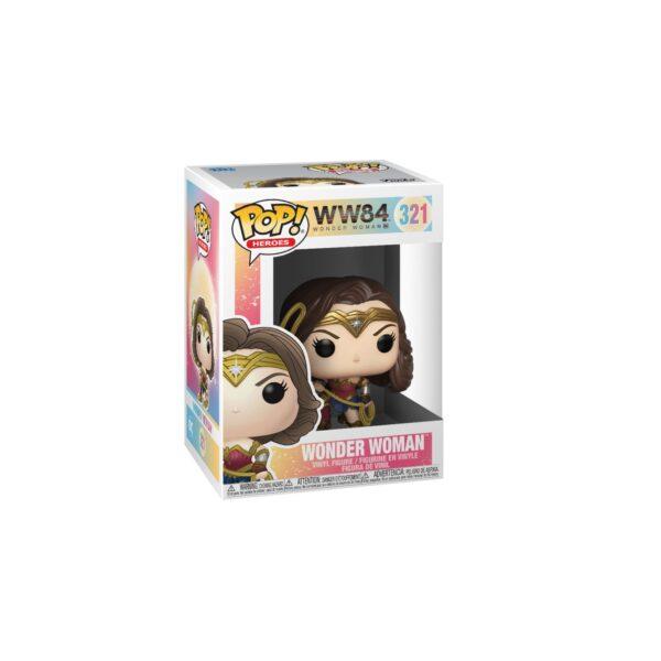 FUNKO POP Heroes: Wonder Woman 1984- Wonder Woman con corda (MT)