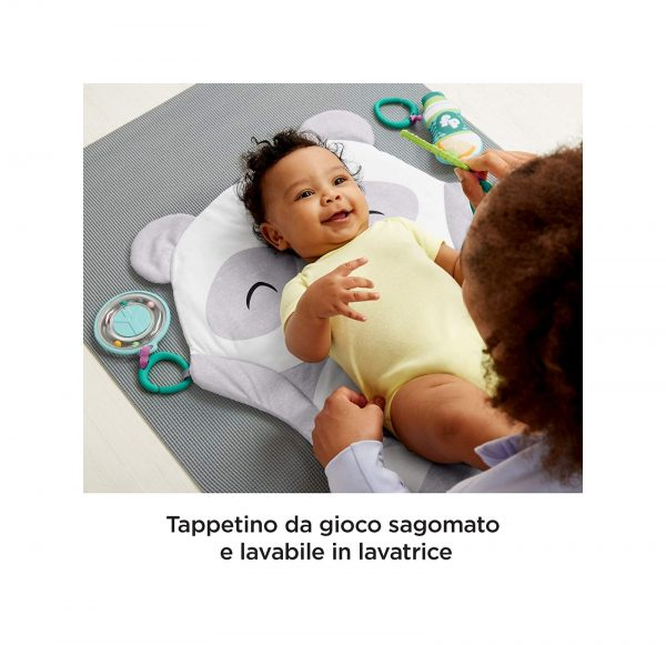 Fisher Price Tappetino del Panda, con Sonaglini e Dentaruolo    FISHER-PRICE