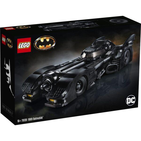 LEGO DC Comics Super Heroes 1989 Batmobile - 76139 DC COMICS, DC Comics Super Heroes, Marvel