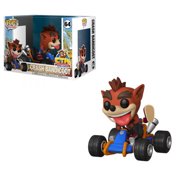 FUNKO Pop Rides: Crash Team Racing - Crash Bandicoot