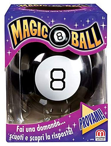 Mattel Games Magic 8 Ball, 20 Risposte Possibili MATTEL GAMES