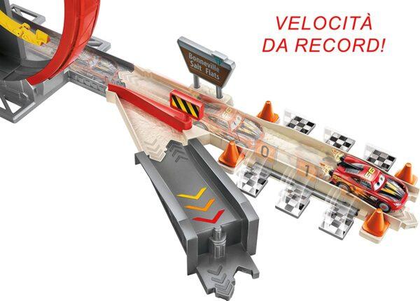 Cars 3  Disney Pixar Cars, XRS Pista Rocket Racers Super Loop con Saetta Mcqueen