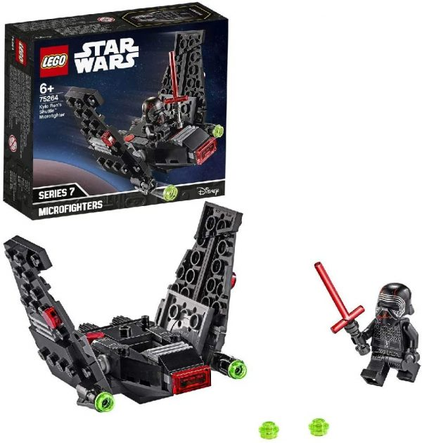 LEGO Star Wars Episode IX Microfighter Shuttle di Kylo Ren - 75264 Star Wars Episode IX