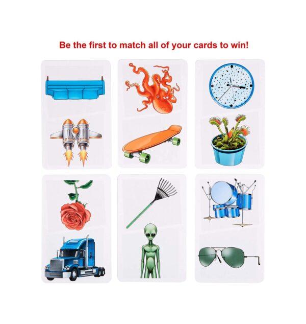 MATTEL GAMES   Mattel Games Pic Flip Gioco di Carte, Regalo per Bambini 7+ Anni