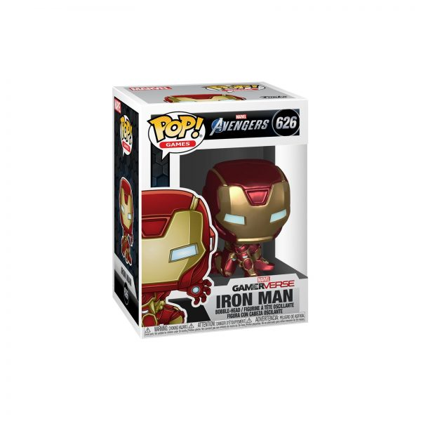 FUNKO POP Games: Avengers Endgame - Iron Man (Tuta Stark Tech)