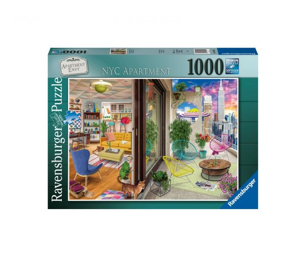 Ravensburger Puzzle 1000 Pezzi - NYC Apartment
