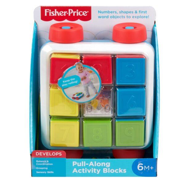 FISHER-PRICE   Fisher-Price Blocchi Sempre con Te, Giocattolo Impilabile per Bambini 6+ Mesi