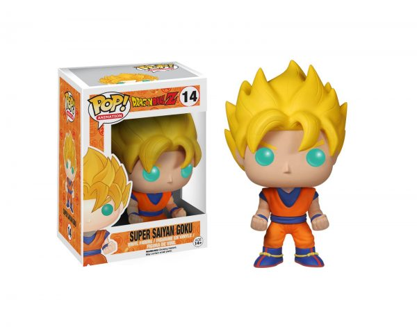 FUNKO POP Animation: Dragonball Z-  Goku Super Saiyan FUNKO POP! Unisex 12-36 Mesi, 12+ Anni, 3-5 Anni, 5-8 Anni, 8-12 Anni DRAGON BALL