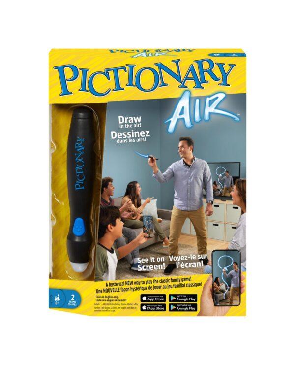 Pictionary Air-Gioco da disegnare, gioco per famiglie con penna luminosa e carte indizio games